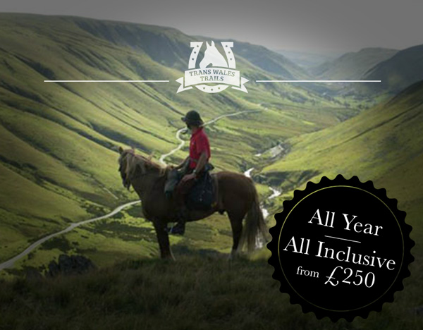 Trans Wales Trails - weekend horse riding breaks